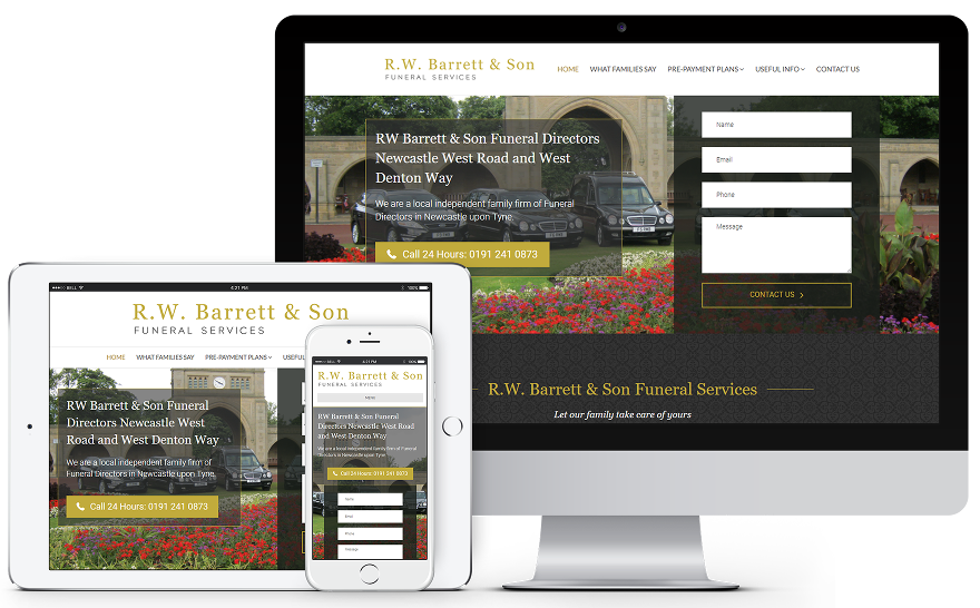 RW Barrett & Son Funeral Directors