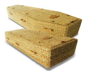 Banana Leaf Coffin