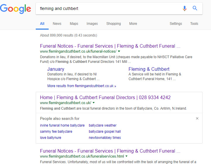 Funeral Announcements on Your Website – An Essential Service