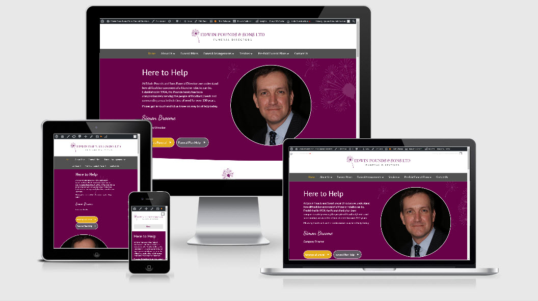 From Yell Website to a Premium Funeral Director Website