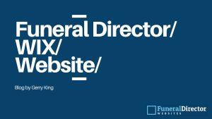 Funeral Director Wix Website